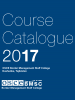 Cover: OSCE BMSC Course Catalogue 2017 (OSCE)