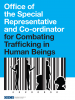 Cover for the Factsheet on Preventing and Combating Trafficking in Human Beings in the OSCE Region.