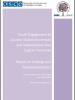 Cover of the report on Youth Engagement to Counter Violent Extremism and Radicalization that Lead to Terrorism (OSCE)