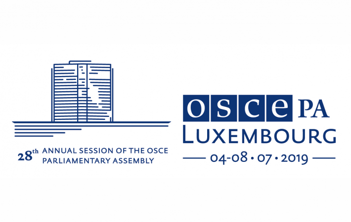 "The largest event on the Assembly's calendar, the 2019 Annual Session will be held under the theme ""Advancing Sustainable Development to Promote Security: The Role of Parliaments."""