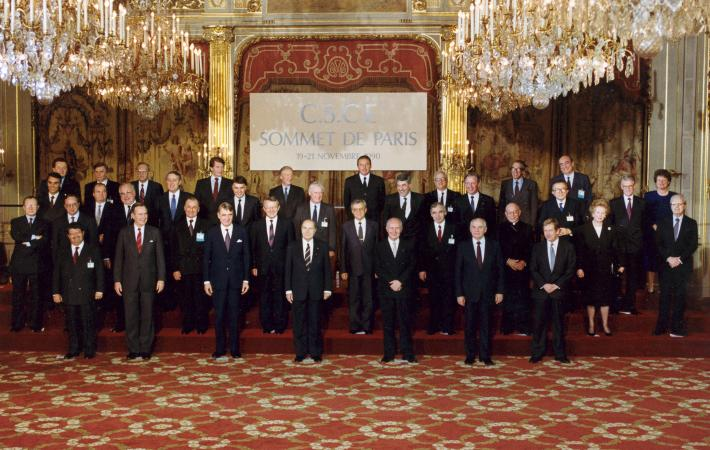 """The era of confrontation and division of Europe has ended,"" declared leaders at the Paris Summit of 1990. Thirty years on, we revisit that landmark meeting and the discussions that led to the Charter of Paris for a New Europe.​"