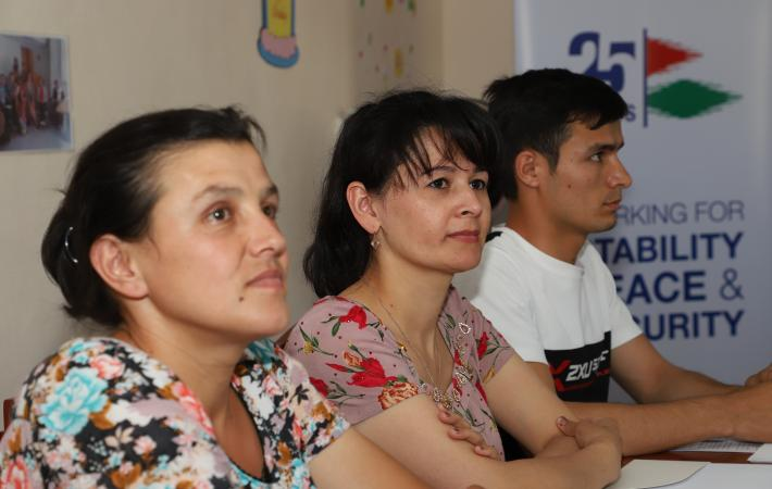Workshops specifically devised for persons with different disabilities help people like Gulrukhsor Meliboeva, a single mother from Tajikistan who has a hearing disability, to know their rights.