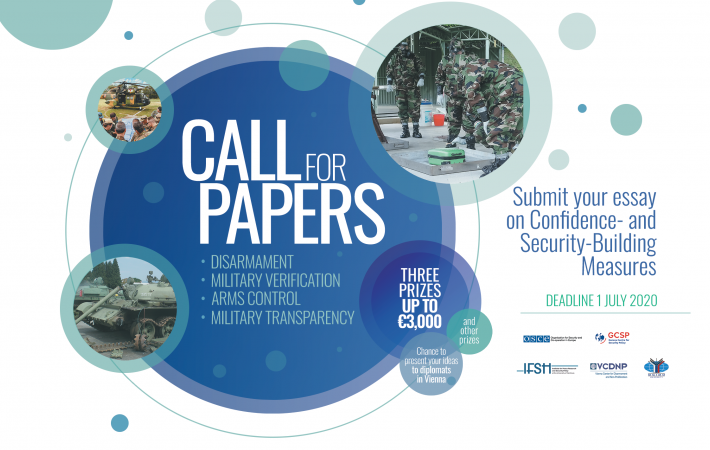 Are you under 35 years old and interested in military security in Europe? Do you want to win up to EUR 3,000 and present your work to diplomats in Vienna?