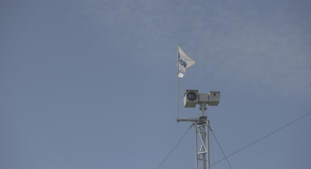 The OSCE Special Monitoring Mission to Ukraine's (SMM) camera system. (OSCE/Evgeniy Maloletka)