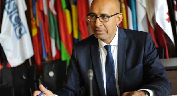 On the occasion of World Press Freedom Day, the OSCE Representative on Freedom of the Media, Harlem Désir, calls on States to let journalists work freely without fear or favour, 2 May 2020, Vienna. (OSCE)