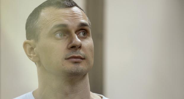 Oleg Sentsov, a writer and film director from Crimea, Ukraine who was arrested in Simferopol by Russian security services in May 2014 and convicted in Rostov-on-Don in August 2015. He has been on a hunger strike since 14 May 2018. (REUTERS/Sergey Pivovarov)