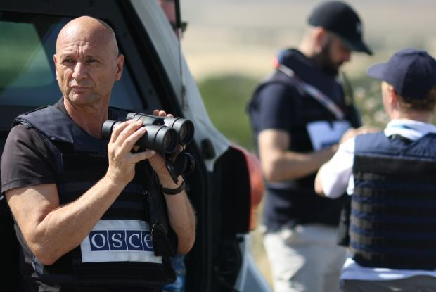 The OSCE Special Monitoring Mission to Ukraine operates ten patrol bases in both government- and non-government-controlled areas, enabling a permanent presence of monitors close to the contact lines where most incidents take place.
